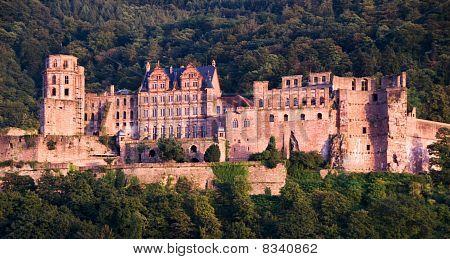 The heidelberg Red Castle, Germany
