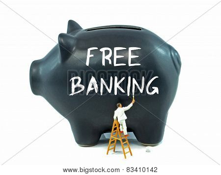 Free Banking on Piggy Bank