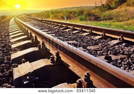 railroad in Crimea