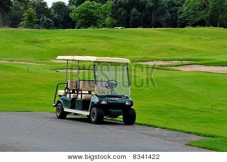 double golf cart