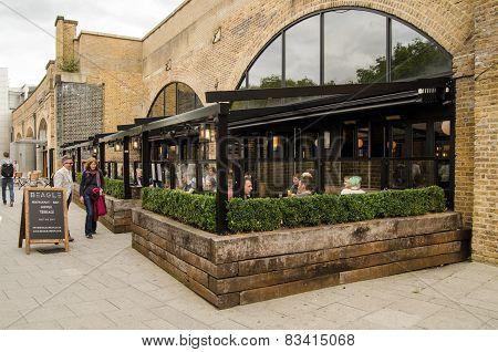 Beagle cafe, Hoxton