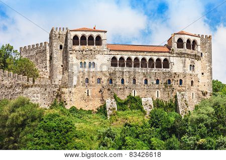 The Leiria Castle