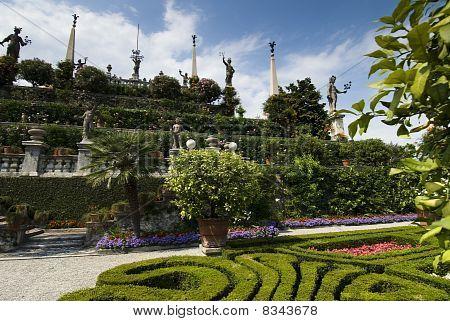 The Baroque Gardens Of The Isola Bella, Lago Maggiore