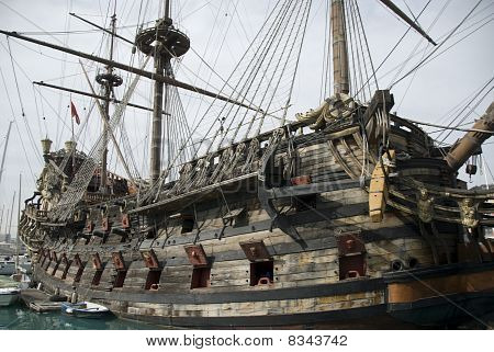 old pirate ship