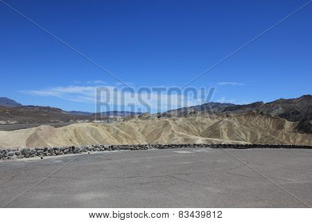 Zabriskie Point, Death Valley National Park in California