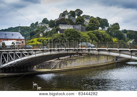 River Sambre Through Namur, Belgium