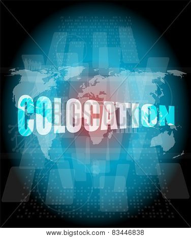 Colocation - Media Communication On The Internet