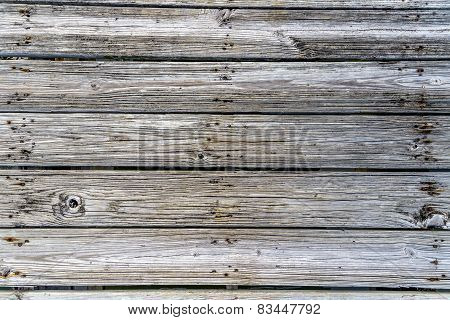 Grunge Gray And Brown Wood Wall Texture And Background