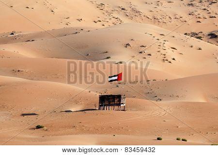 Moreeb Dune In Liwa Oasis