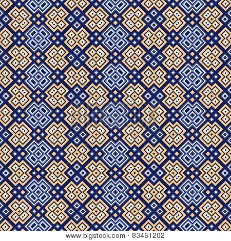 Seamless Pattern With Geometrical Motif