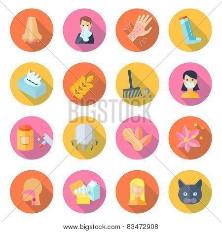 Allergy Icon Flat