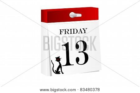 Friday 13th calendar