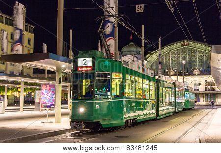 Tram in Basel