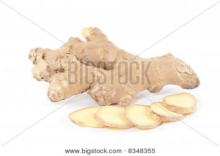 Ginger Root And Slices (zingiber Officinale)
