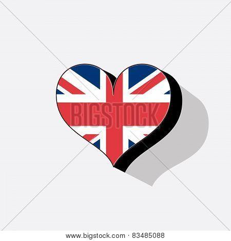United Kingdom Or Uk Flag