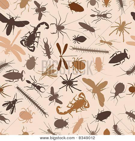 Bugs Seamless Tile