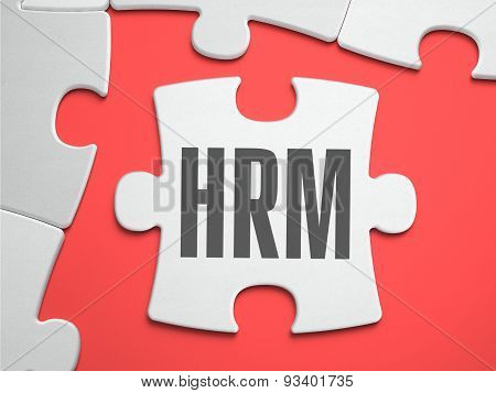 HRM - Puzzle on the Place of Missing Pieces.