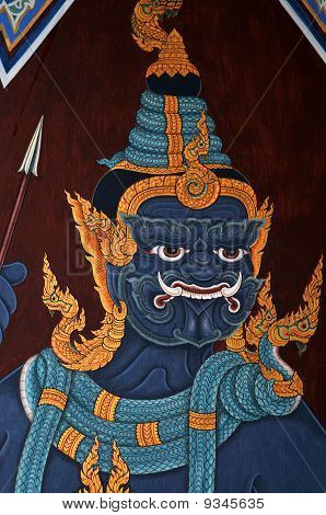 thai temple paintings