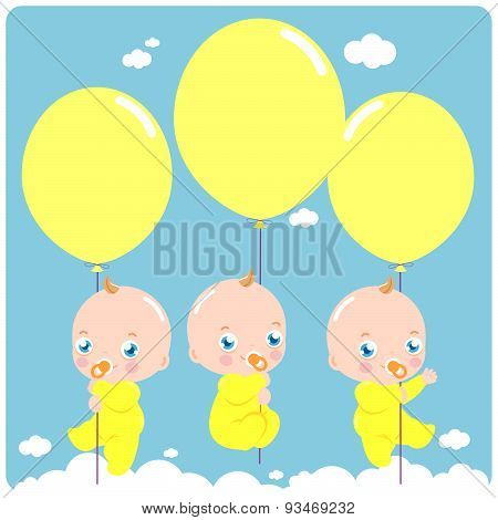 Babies and balloons