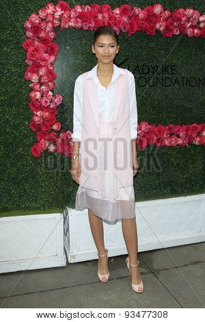 LOS ANGELES - JUN 13:  Zendaya Coleman at the LadyLike Foundation 7th Annual Women Of Excellence Scholarship Luncheon at the Luxe Hotel on June 13, 2015 in Los Angeles, CA