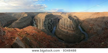 Goosenecks Of The San Juan River