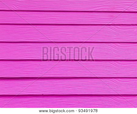 Pink Wood Plank As Taxture And Backgrounds.