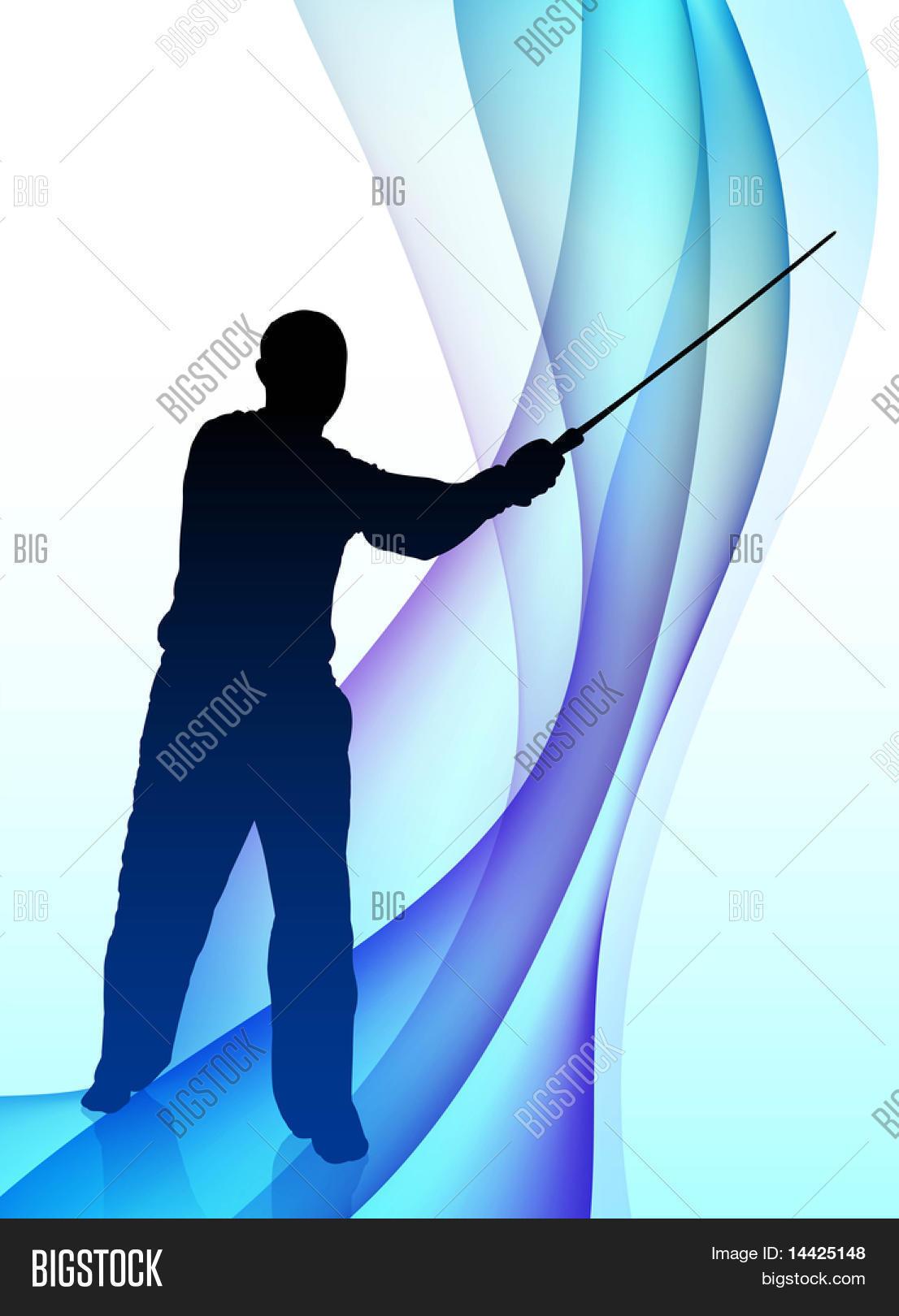 Karate Sensei Sword Vector & Photo (Free Trial) | Bigstock