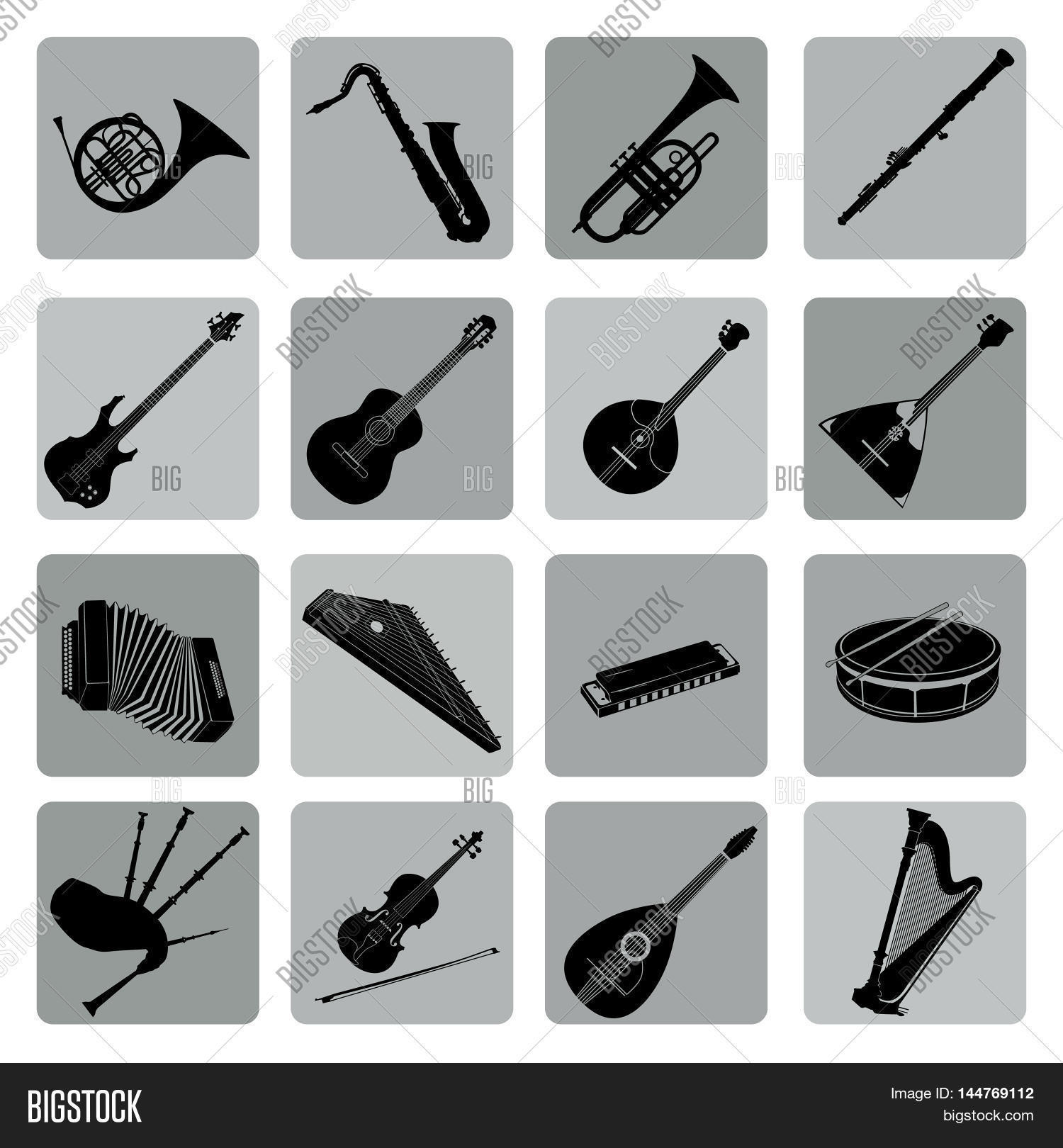 Musical Instruments Image Photo Free Trial Bigstock