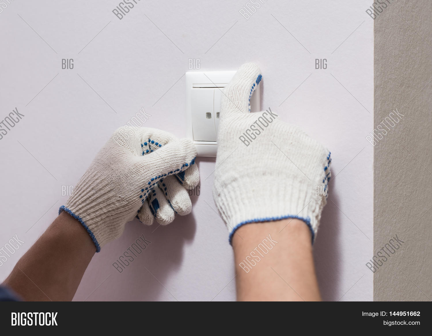 Electrician Installing Image & Photo (Free Trial) | Bigstock