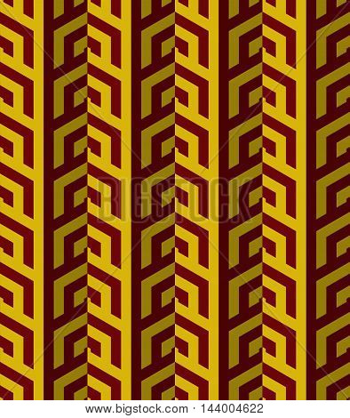 Retro Fold Red And Yellow Striped Coroners