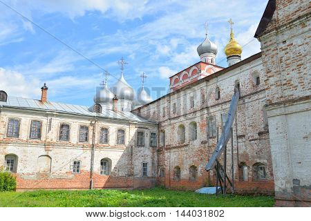 Sophia Cathedral and Bishops yard in Vologda Russia.