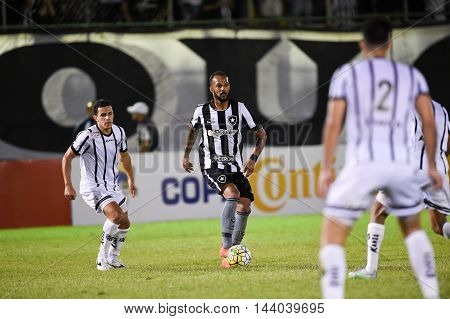Rio de Janeiro Brazil - july 27 Luis Henrique during Botafogo x Bragantino valid for the return leg of the 3rd phase of the Brazil Cup held at the Arena Botafogo