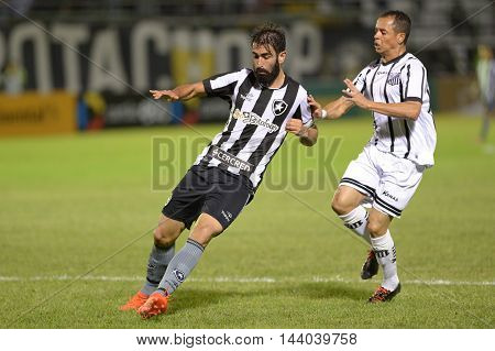 Rio de Janeiro Brazil - july 27 Renan de Oliveira during Botafogo x Bragantino valid for the return leg of the 3rd phase of the Brazil Cup held at the Arena Botafogo