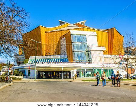 Berliner Philharmonie (hdr)