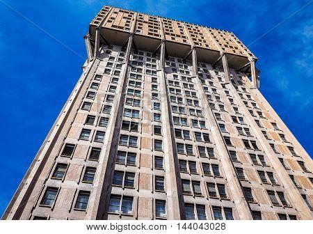 Torre Velasca In Milan (hdr)