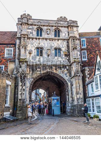 Canterbury Uk (hdr)