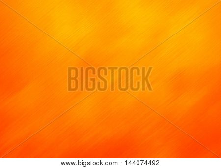 orange paint brushed background