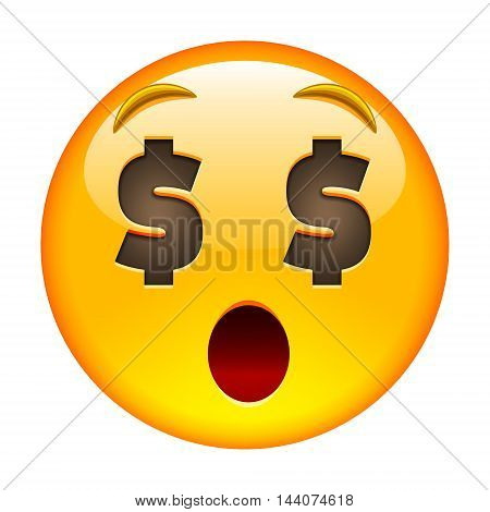 About Money Surprised Face. Aboutmoney Surprised Emoji