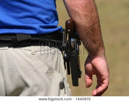 Target shooter awaits next go at