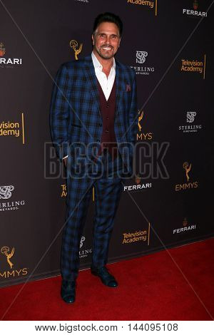 LOS ANGELES - AUG 24:  Don Diamont at the Daytime TV Celebrates Emmy Season  at the Television Academy - Saban Media Center on August 24, 2016 in North Hollywood, CA