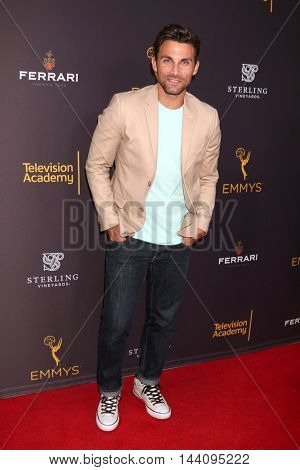 LOS ANGELES - AUG 24:  Erik Fellows at the Daytime TV Celebrates Emmy Season  at the Television Academy - Saban Media Center on August 24, 2016 in North Hollywood, CA