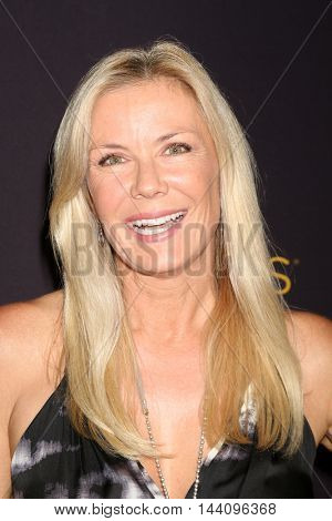 LOS ANGELES - AUG 24:  Katherine Kelly Lang at the Daytime TV Celebrates Emmy Season  at the Television Academy - Saban Media Center on August 24, 2016 in North Hollywood, CA