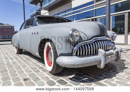 COLOGNE GERMANY - AUG 7 2016: Buick Super Sedanet from ca. 1949 at an exhibition in the city of Cologne Germany
