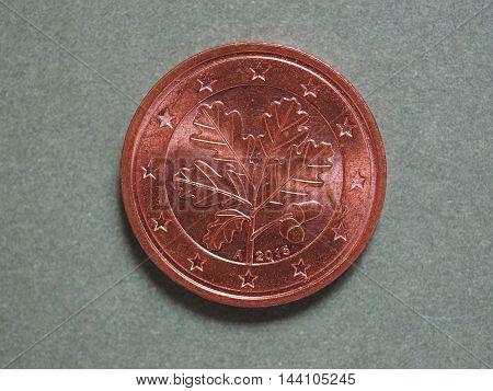 Euro (eur) Coin, Currency Of European Union (eu)