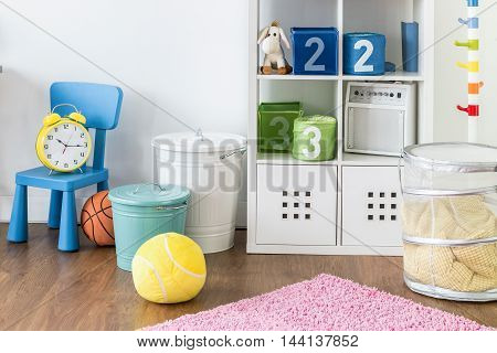 Colourful Children's Room For Both Girls And Boys
