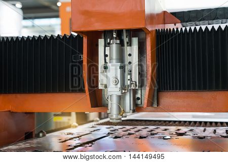Precision laser processing of the workpiece