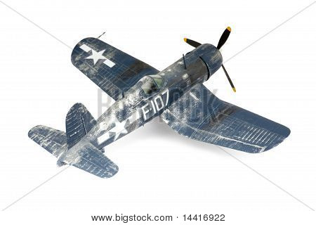 Self-made Model Copy Of American Fighter Plane