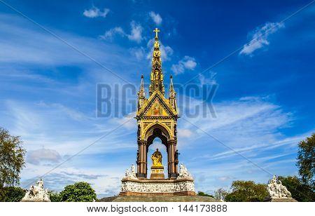 Albert Memorial London Hdr