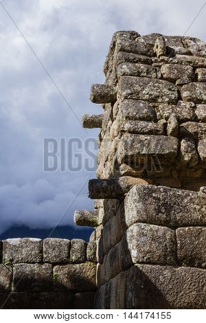 Stone Work Used In Machu Pichu