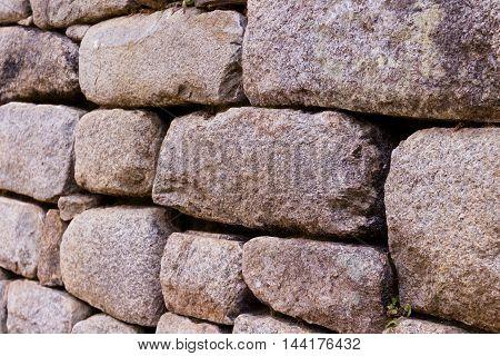 Stone Work Used In Machu Pichu